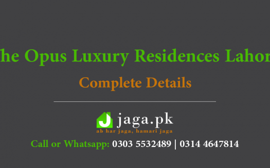 The Opus Apartments Lahore Feature Image